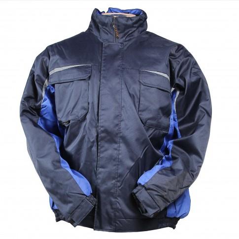 Costum de protectie Kastor, vatuit, albastru, XXL