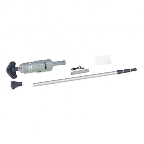 Sistem curatare piscina + maner telescopic + cablu USB + baterii reincarcabile, Intex Ni-Mh 28620