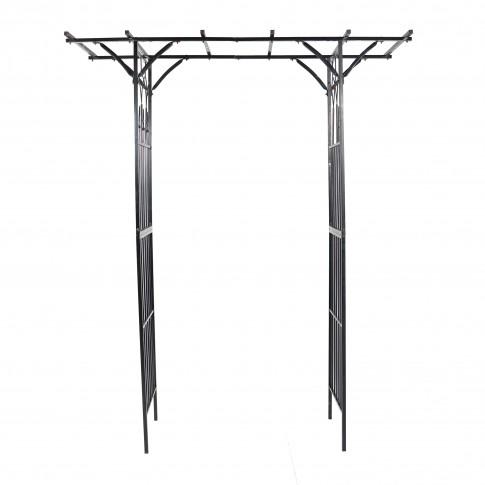 Pergola metalica HY19-01, suport flori, 190 x 51 x 232 cm
