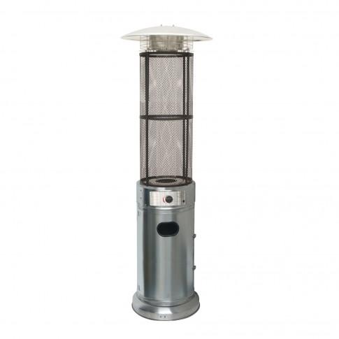 Incalzitor terasa, pe gaz, MY4324, inox, 12 kW