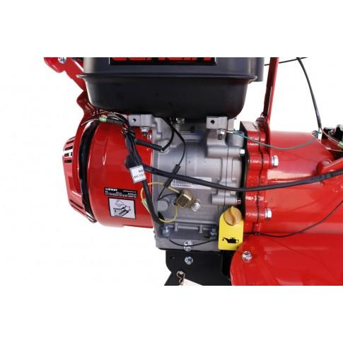 Motocultor pe benzina Loncin LC1200, 8 CP, 3 viteze + roti cauciuc
