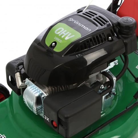 Masina tuns iarba, pe benzina Grunman PT460S-DJ, cu autopropulsie, 3.5 CP, 2.6 kW
