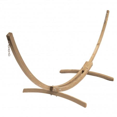 Suport pentru hamac, din lemn, Kronos, 358 x 113 x 105 cm
