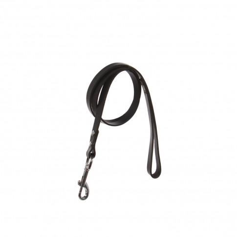 Lesa pentru caini, neagra, 18/1100 mm