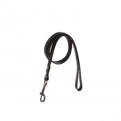 Lesa pentru caini, neagra, 10/1100 mm