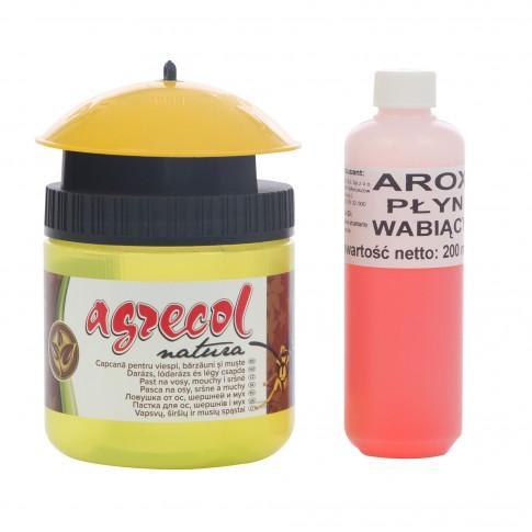 Capcana pentru viespi, bondari, muste, Agrecol + lichid atractant
