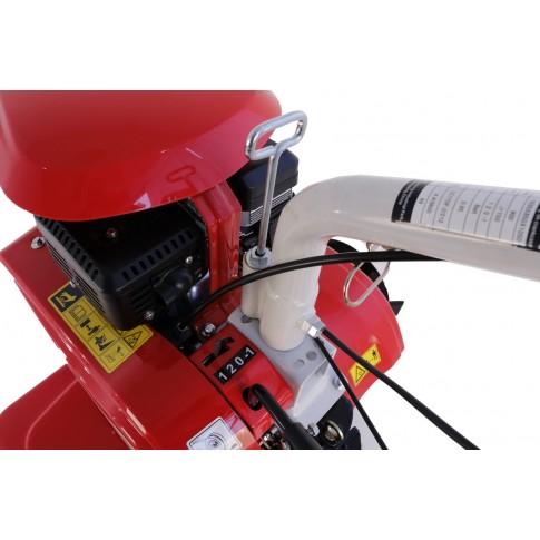 Motocultor pe benzina Loncin LC750, 7 CP, 6 viteze + roti cauciuc