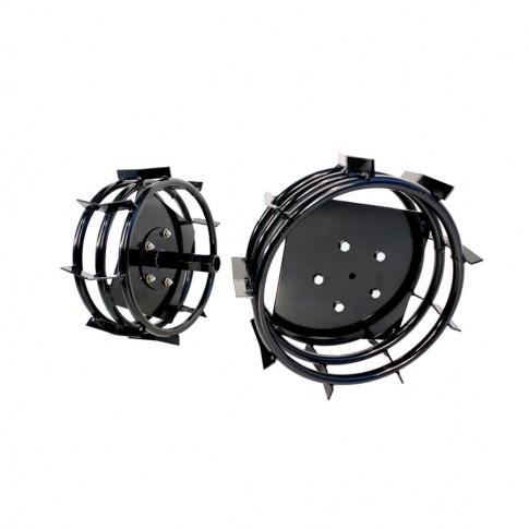 Roti metalice pentru motocultor O-Mac 750/10 (1 bucata = 1 set 2 roti)
