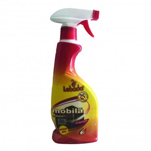 Solutie curatare mobila cu pulverizator Casa Lebada 450 ml