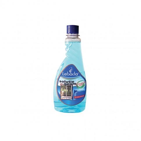 Rezerva solutie geamuri Casa Lebada, active fresh, albastru, 500 ml