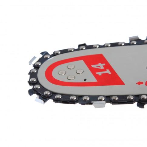 Sina de ghidaj + lant pentru drujba / motofierastrau Prorun /O-mac, 35 cm, 25D, 3/8, 1.3mm