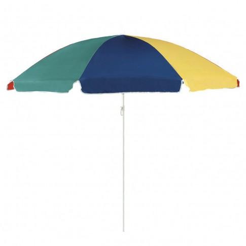 Umbrela soare, pentru terasa, Salito rotunda, structura metal, multicolor, D 180 cm/8