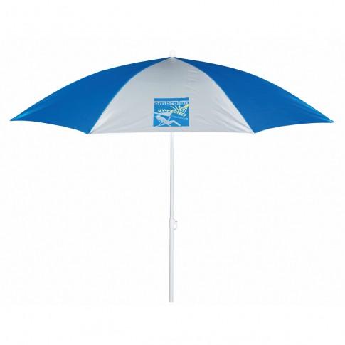 Umbrela soare, pentru terasa, Ombralan rotunda, structura metal, D 240 cm/8