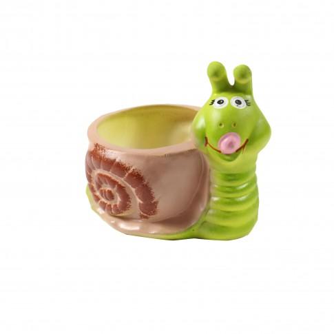 Ghiveci ceramic Melc 2, H 16 cm