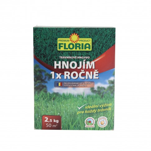 Ingrasamant gazon, anual, Floria, 2.5 kg