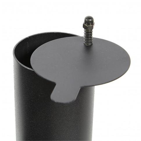 Gratar gradina, cu carbuni, Landmann American BBQ 11401, fix, din metal, cu roti deplasare, 115 x 116 x 65 cm