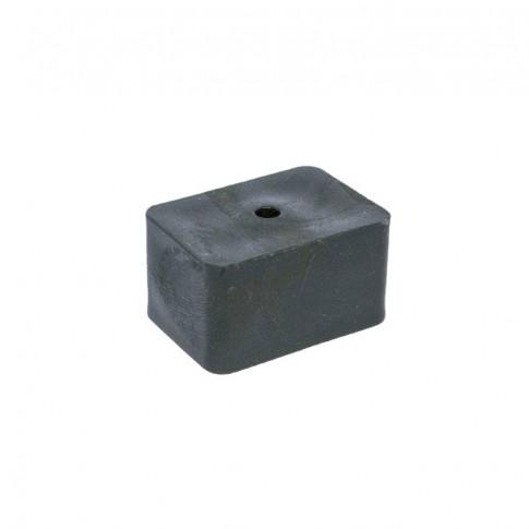 Conector gard WPC 35 x 25 mm, negru