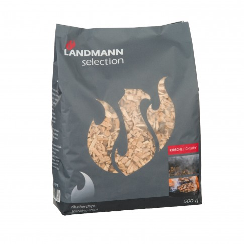 Aschii afumare Landmann 13953, lemn de cires, 450 g