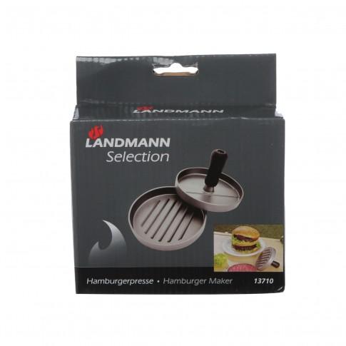 Presa pentru hamburgeri Landmann, fonta aluminiu, D 11.5 cm