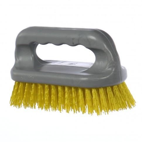 Perie curatenie Pervil 345103 ovala, plastic, diverse culori, 150 x 25 x 80 mm