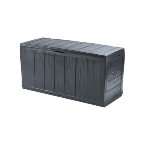 Lada pentru gradina Curver Sherwood Storage box, 270 l, 117 x 45 x 57.5 cm