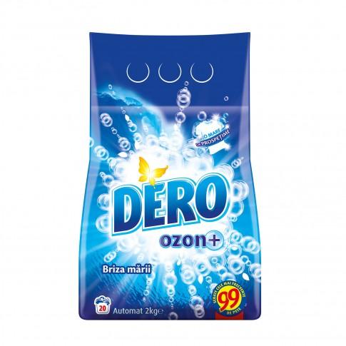 Detergent rufe, automat, Dero Ozon+ briza marii, 2 kg