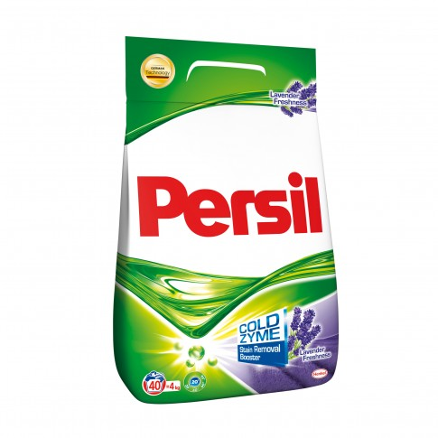 Detergent rufe, automat, Persil Lavender, 40 spalari, 4 kg