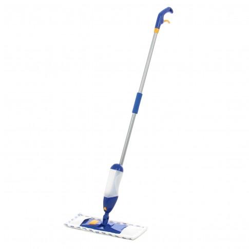 Mop spray microfibra + coada + rezervor + sistem de pulverizare, 40 x 10 cm