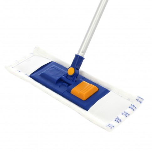 Mop plat microfibra 40 cm + coada telescopica 10-4536-11