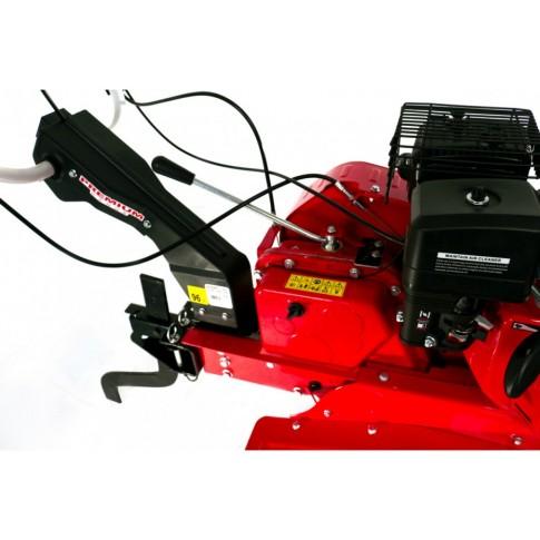 Motocultor pe benzina Prorun PT-900A, 7 CP, 6 viteze + diferential si roti cauciuc