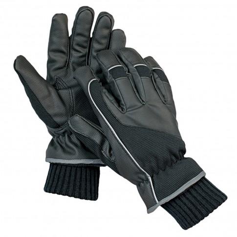 Manusi DCT Arta, poliester + fibre textile, negre, marimea 10