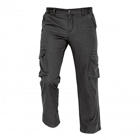 Pantaloni pentru protectie Rahan termoizolanti, bumbac, negru, marimea XL