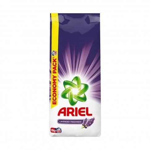 Detergent rufe automat, Ariel Lavanda, 10 kg