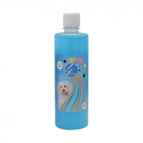 Sampon pentru caini cu blana alba, 4 Dog, 500 ml
