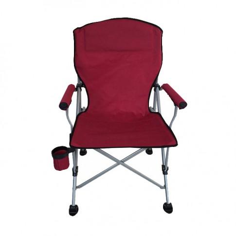 Scaun camping pliant  WR-SWG403, structura metalica, diverse culori, 64 x 60 x 47/96 cm