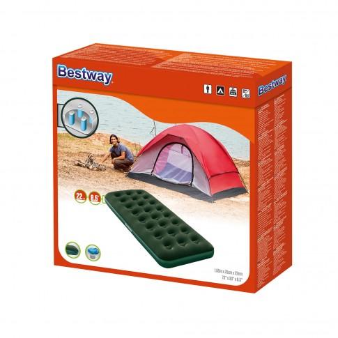 Saltea gonflabila Bestway Horizon, pentru camping, 1 persoana, 185 x 76 x 22 cm