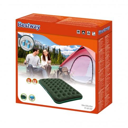 Saltea gonflabila Bestway Horizon, pentru camping, 2 persoane, 191 x 137 x 22 cm