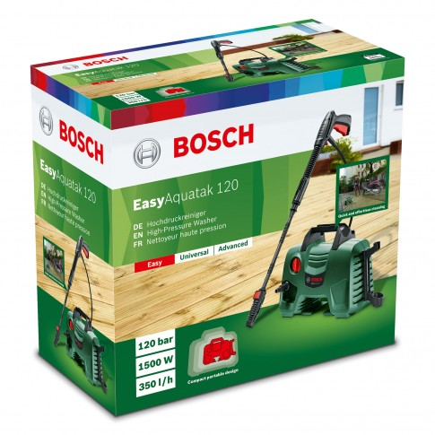 Curatitor cu presiune Bosch Easy Aquatak 120, 1500 W