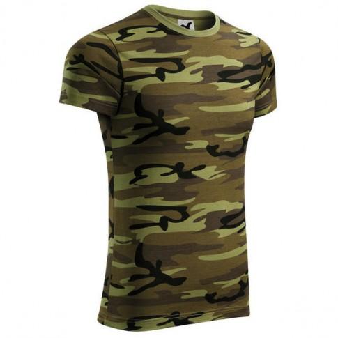Tricou Camouflage, bumbac, camuflaj, marimea L