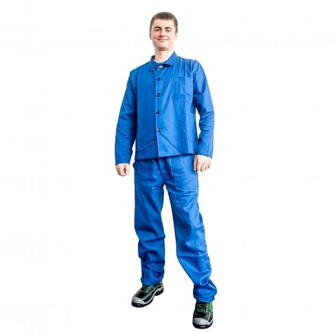 Costum de protectie DCT Rito, talie, doc 240 g/mp, albastru, 56