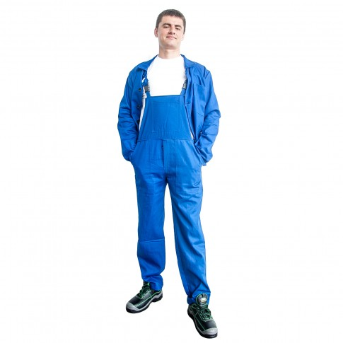Costum de protectie DCT Simo, doc 240 g/mp, albastru, 54