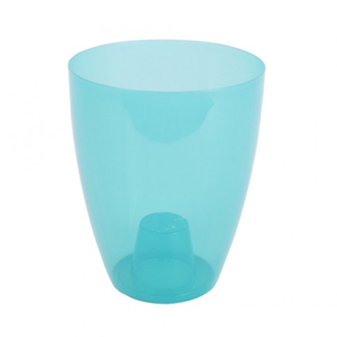 Ghiveci din plastic, pentru orhidee, Miltonia, frozen, D 16.3 cm