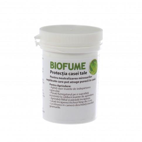 Fumigena pentru neutralizarea mirosurilor Biofume, cu ulei de menta