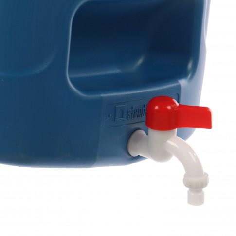 Rezervor apa SP20, albastru, pentru gradina, cu robinet,  20L