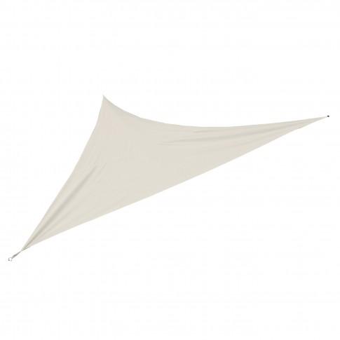 Prelata umbrire, triunghiulara, bej, 3.6 x 3.6 x 3.6 m