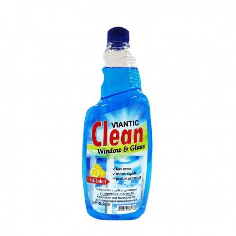 Rezerva solutie geamuri Viantic, fresh, albastru, 750 ml