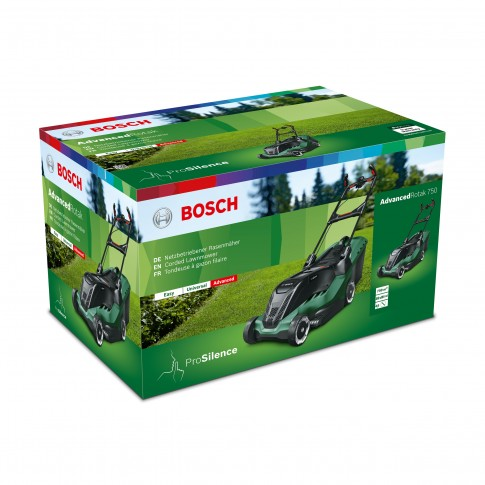 Masina de tuns iarba, electrica Bosch Advanced Rotak 750, 1700 W