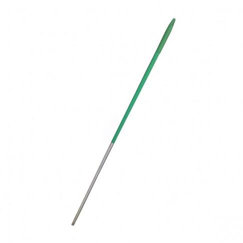 Coada pentru menaj aluminiu Misavan, verde, 140 cm