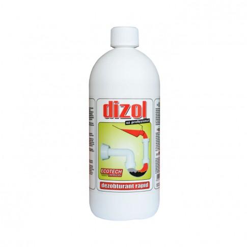 Solutie pentru desfundare tevi Dizol, 1L