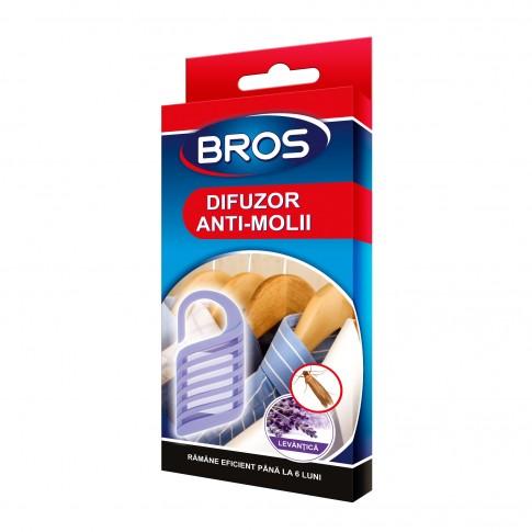 Difuzor antimolii cu agatatoare Bros, lavanda